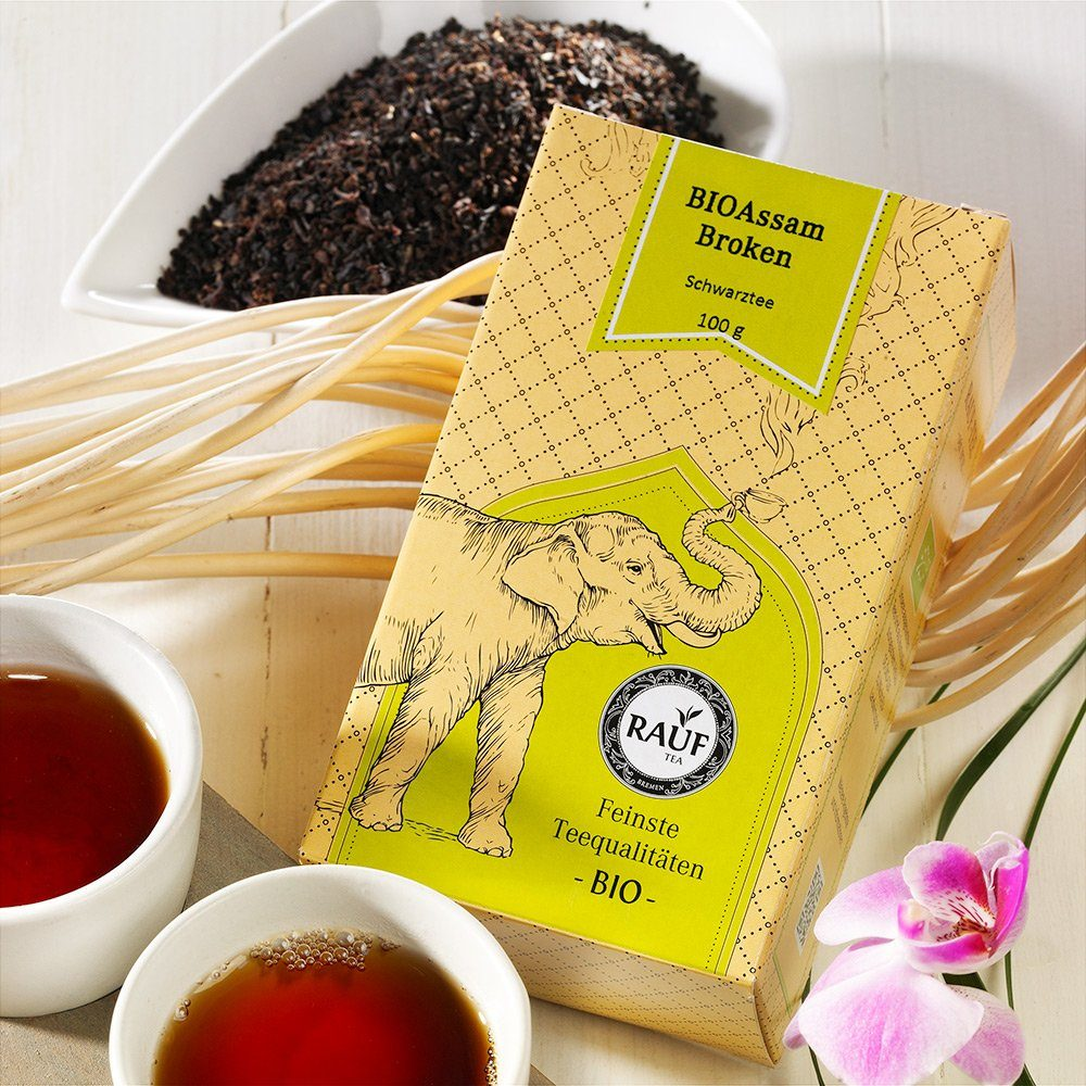 Rauf Tee Rauf Tee Schwarzer Tee Assam Broken Bio
