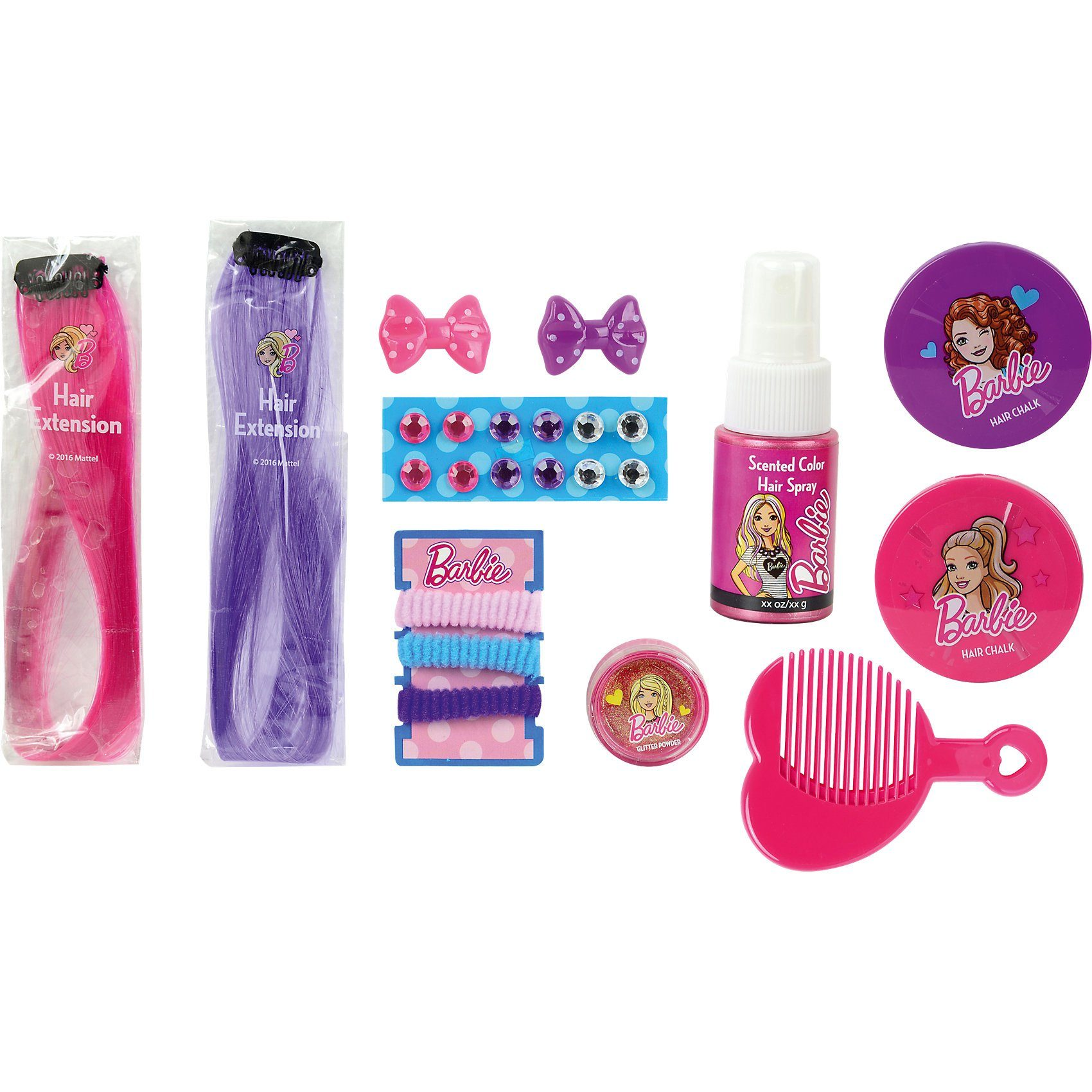 Empeak Barbie Sparkle & Dazzle Haar Set