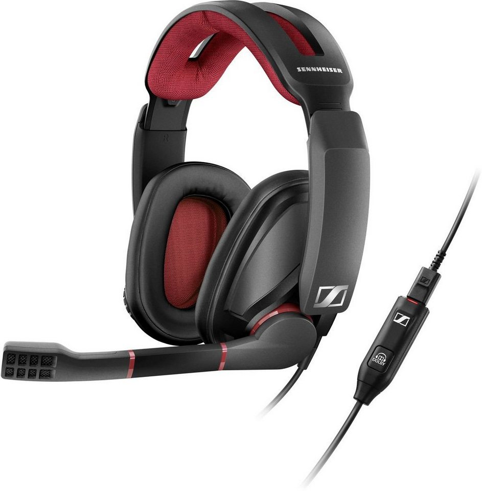 sennheiser gaming headset gsp 350 f r pc gaming mit. Black Bedroom Furniture Sets. Home Design Ideas