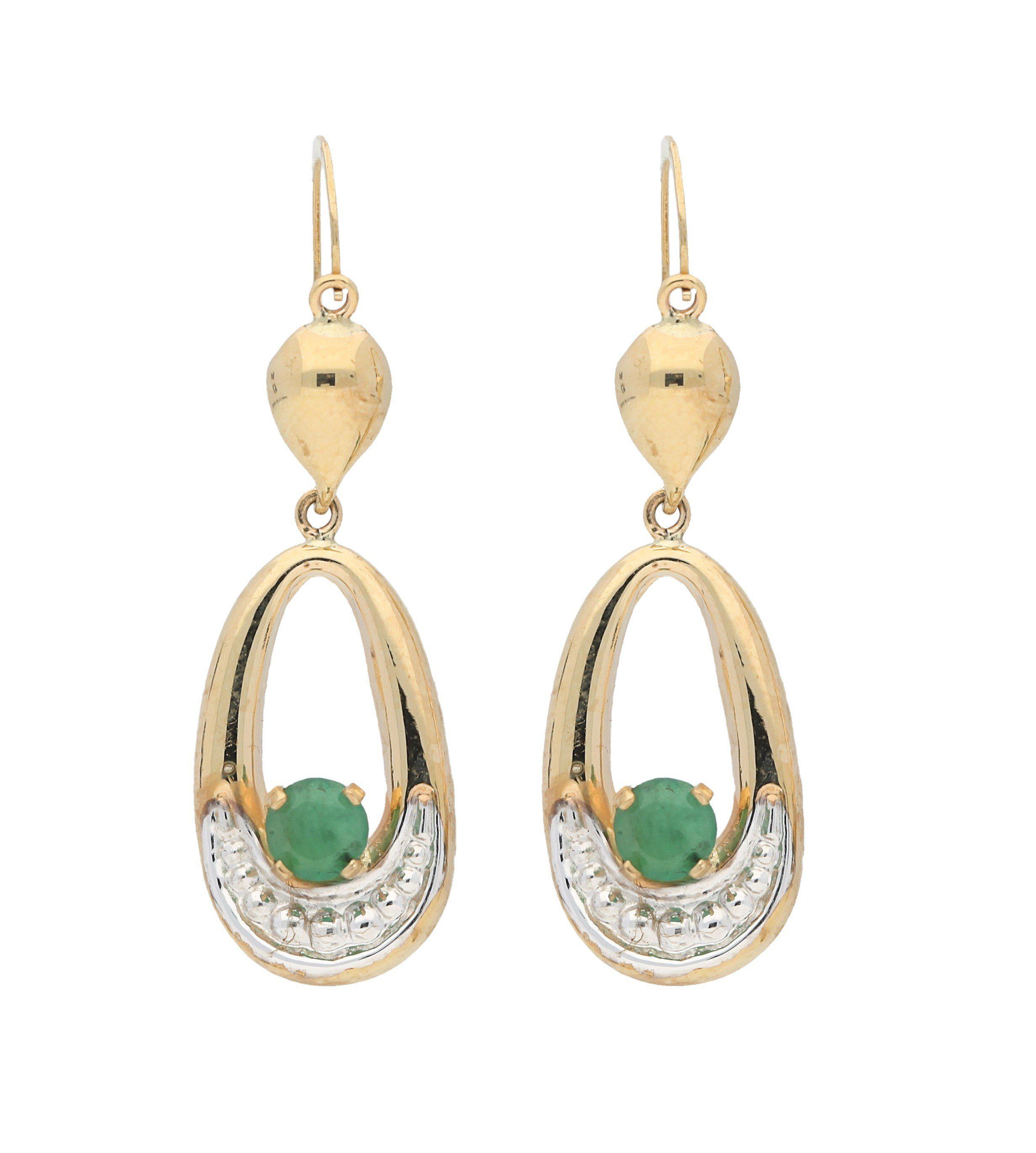 Firetti Paar Ohrhänger »Smaragd«