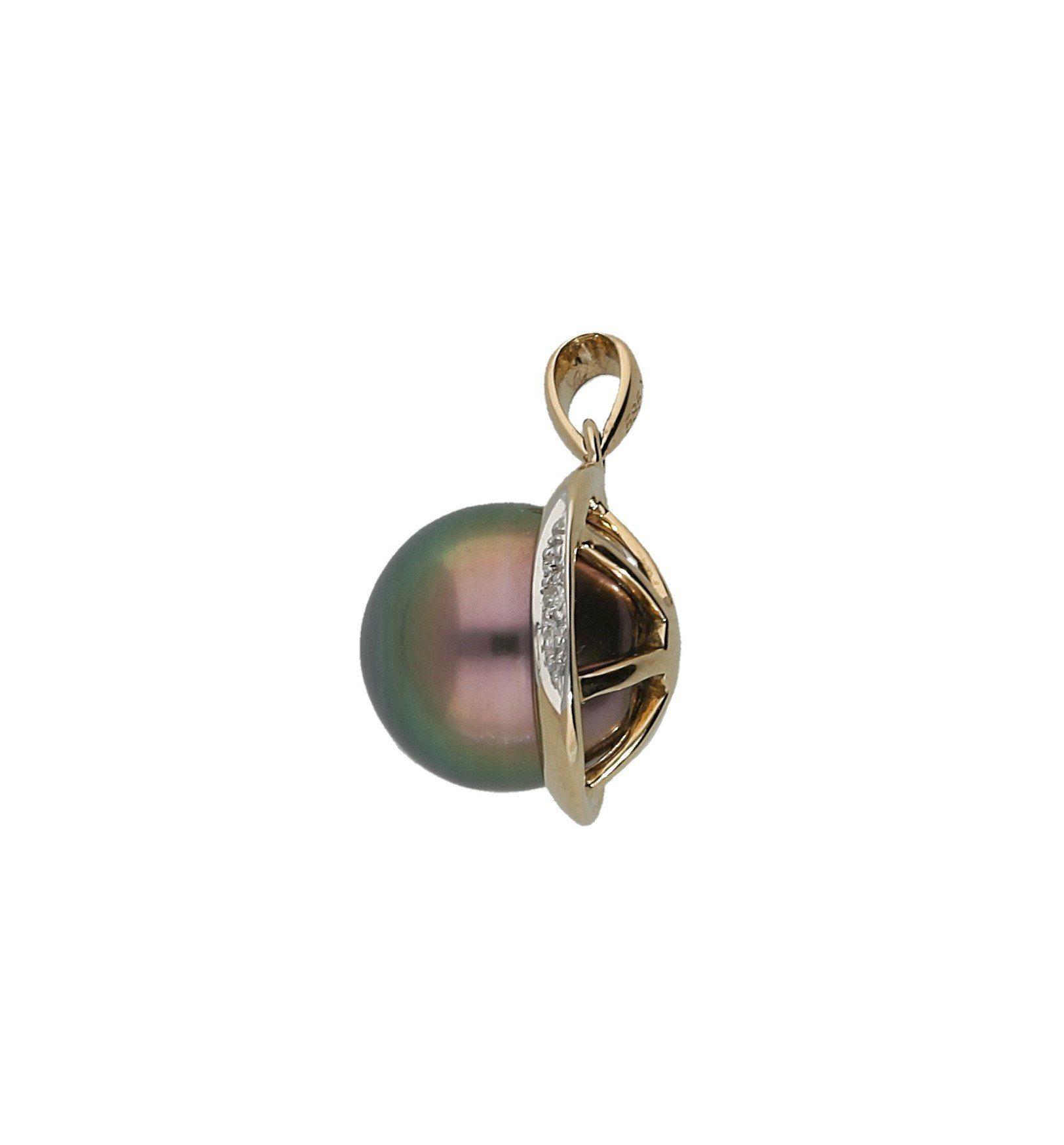 Vivance Perlenanhänger »Perle« mit Diamanten