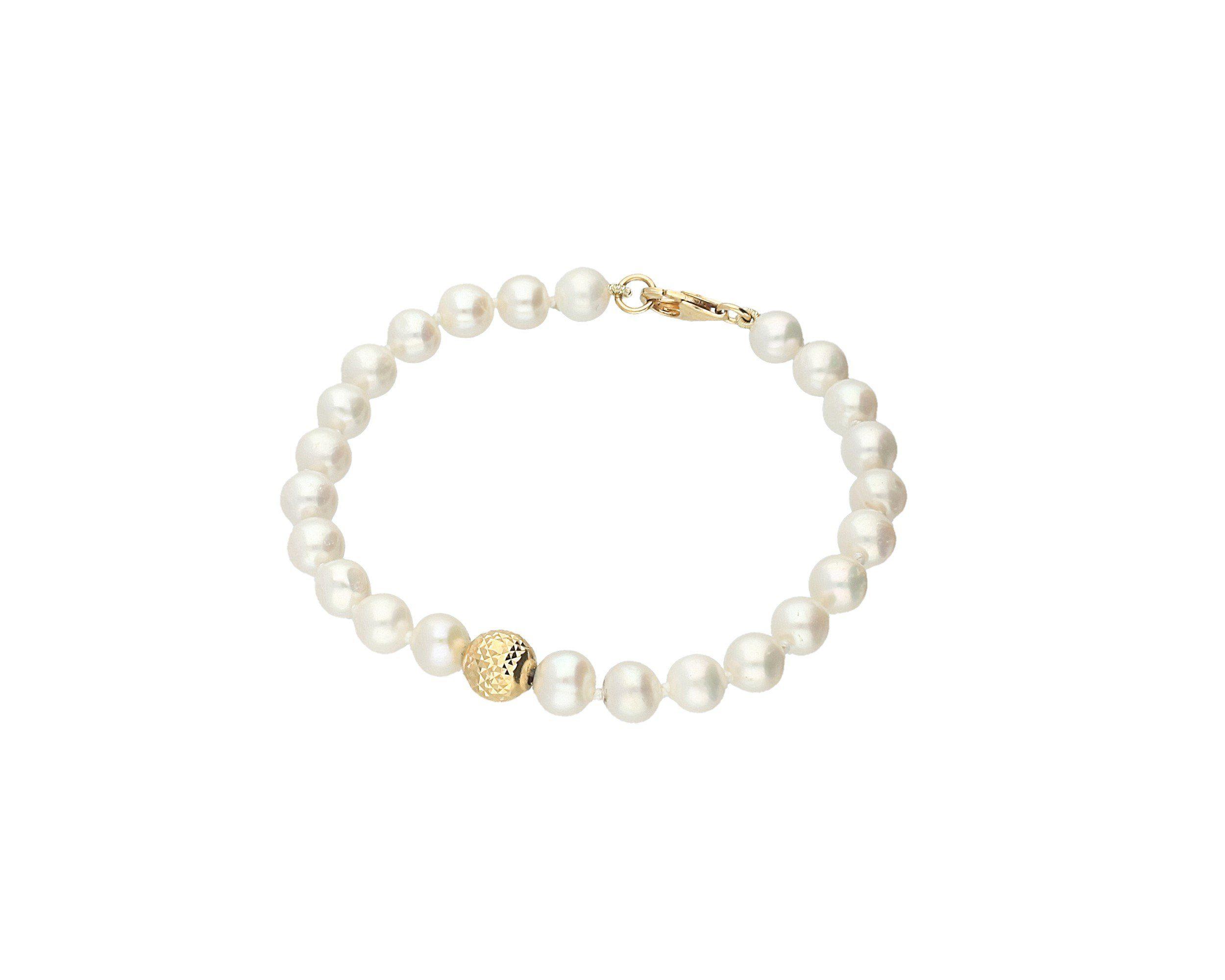 Firetti Perlenarmband »White« Süßwasserperlen