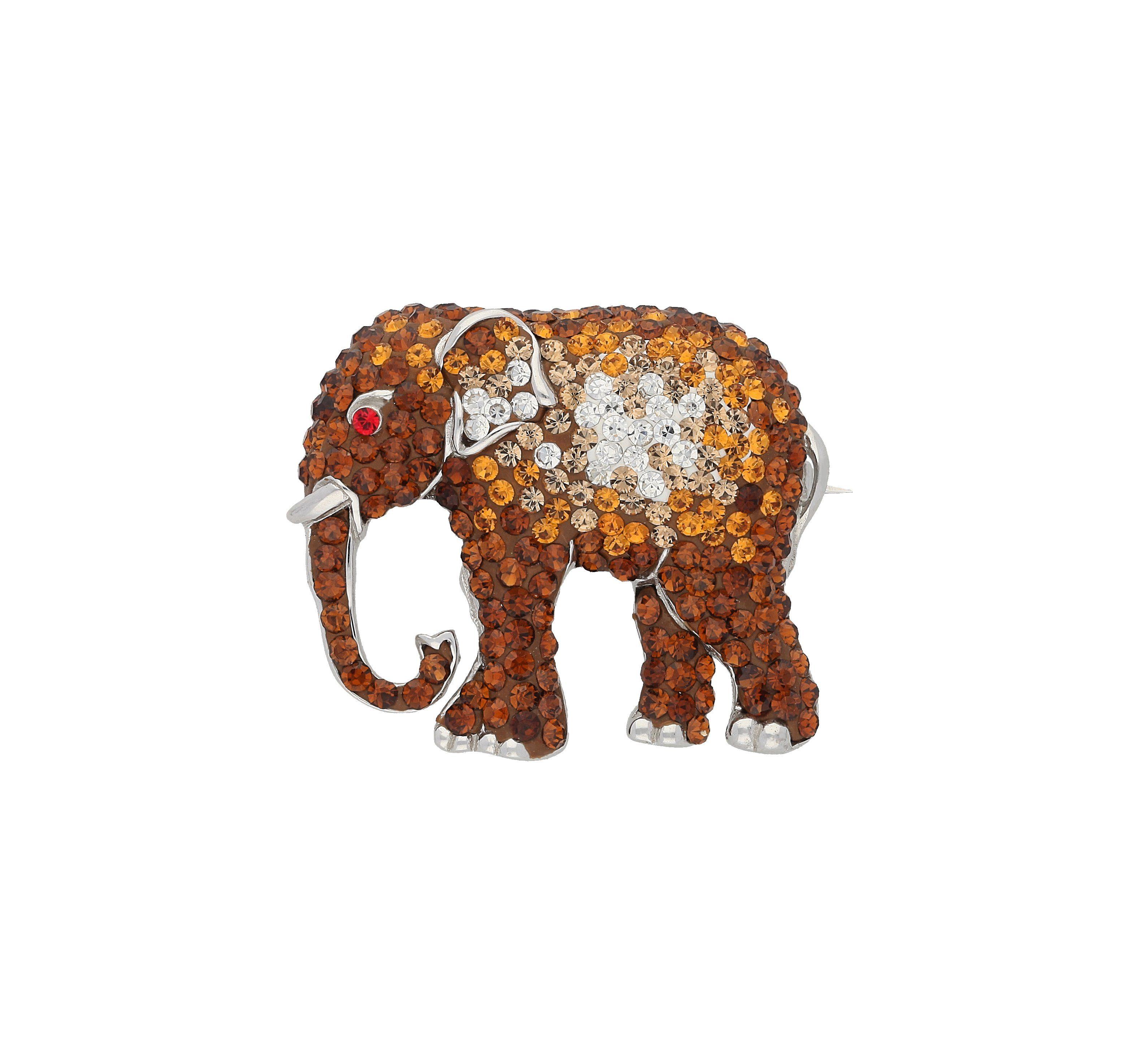 Firetti Brosche »Elefant«
