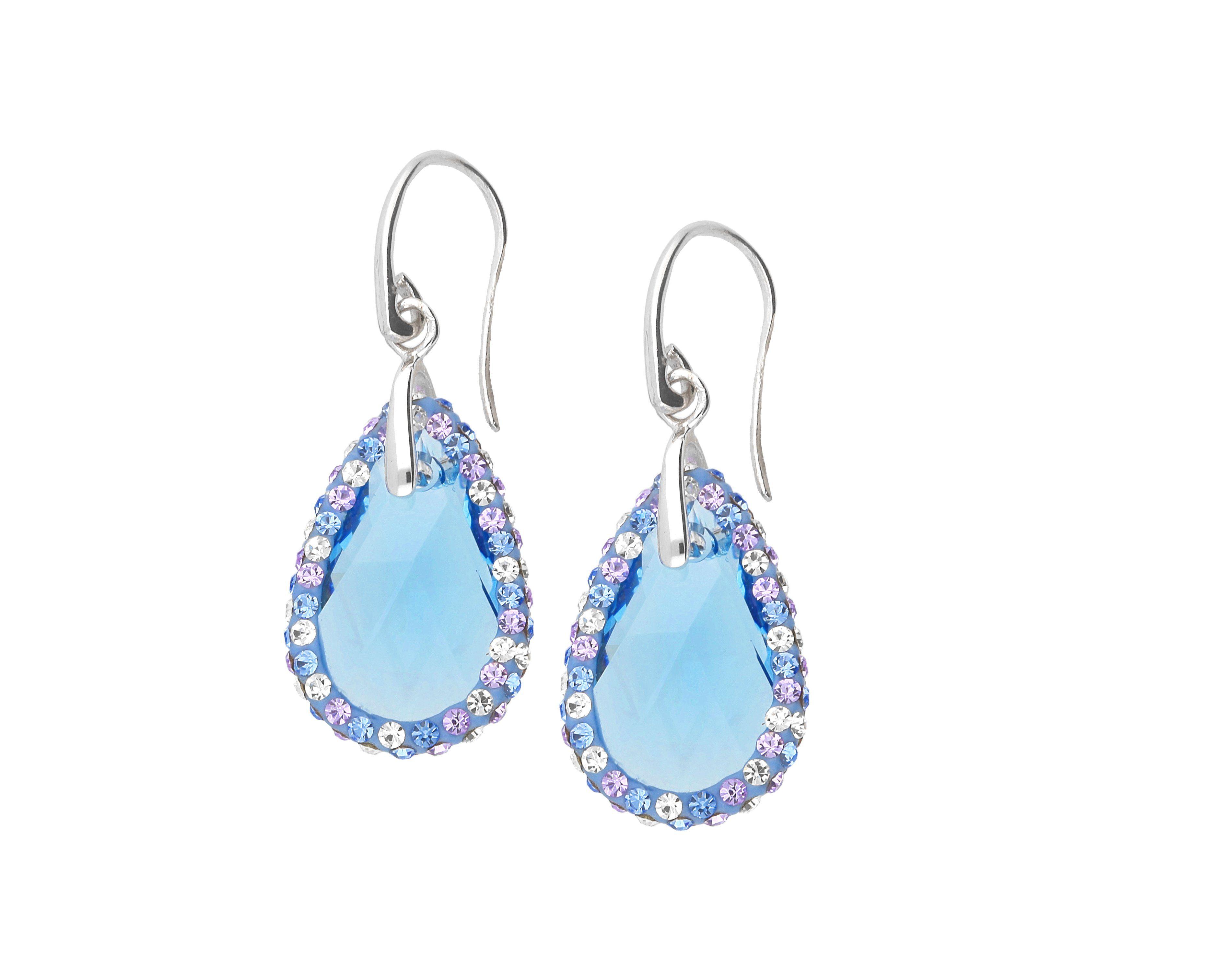 Firetti Paar Ohrhaken »Kristall«