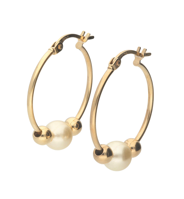 Firetti Paar Creolen »Perlen«