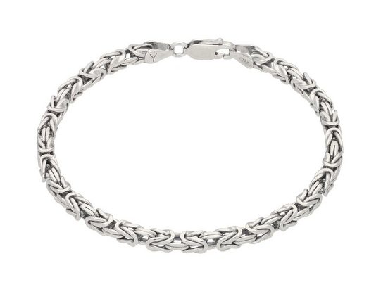 Vivance Königsarmband »Silberarmband« viereckige Glieder
