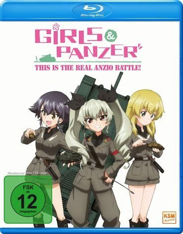 Blu-ray »Girls & Panzer - This Is the Real Anzio Battle«