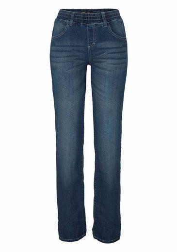 Arizona Gerade Jeans mit Schlupfbund