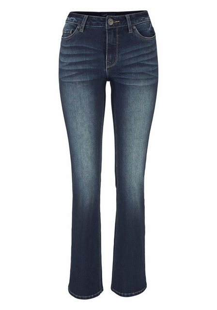 Hosen - Arizona Bootcut Jeans »Baby Bootcut« High Waist › blau  - Onlineshop OTTO