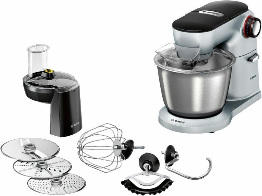 Bosch Küchenmaschine OptiMUM MUM9D33S11, 5,5Liter, 1300 Watt, Vollmetall-Gehäuse