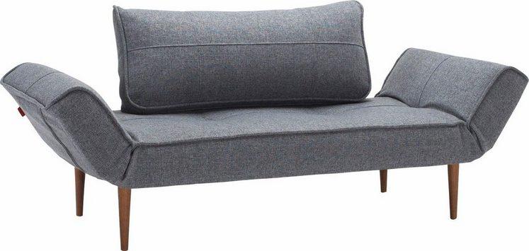 INNOVATION™ Schlafsofa »Zeal«, im Scandinavian Design, Styletto Beine, inklusive Rückenkissen