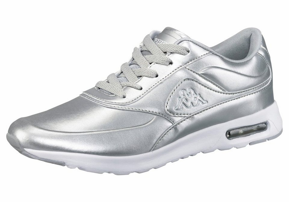 Kappa »Milla Shine« Sneaker in silberfarben