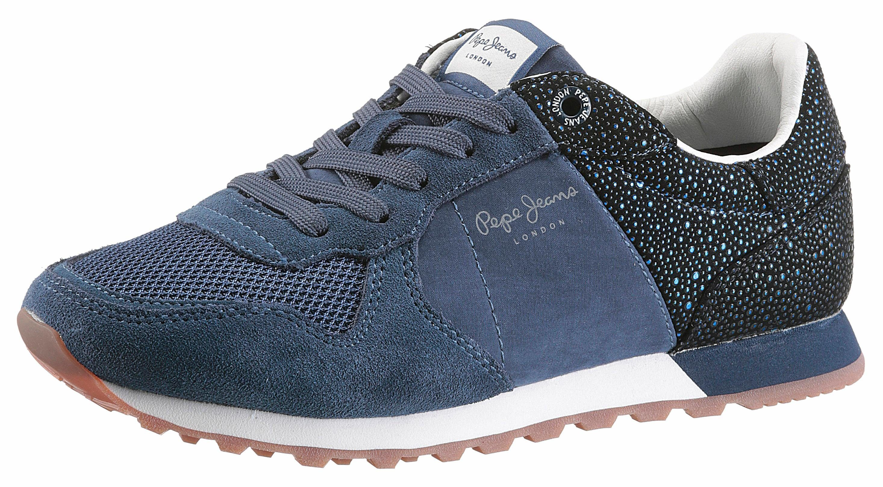 Pepe Jeans Verona Flash Sneaker, mit modischen Nieten online kaufen  blau