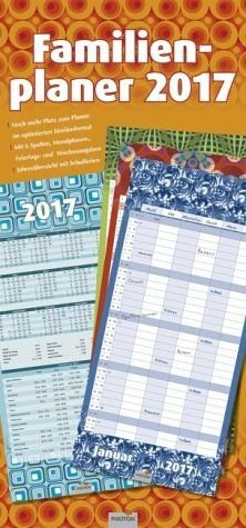 "Kalender »Familienplaner ""Retro"" 2017«"