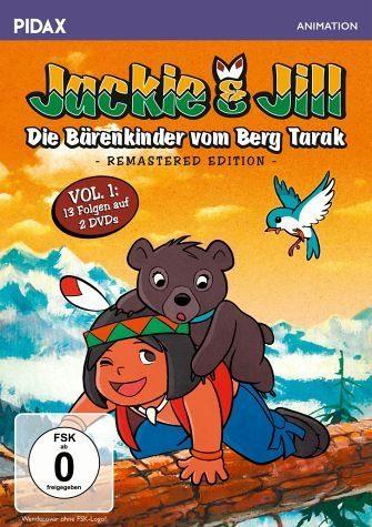 DVD »Jackie & Jill - Die Bärenkinder vom Berg...«