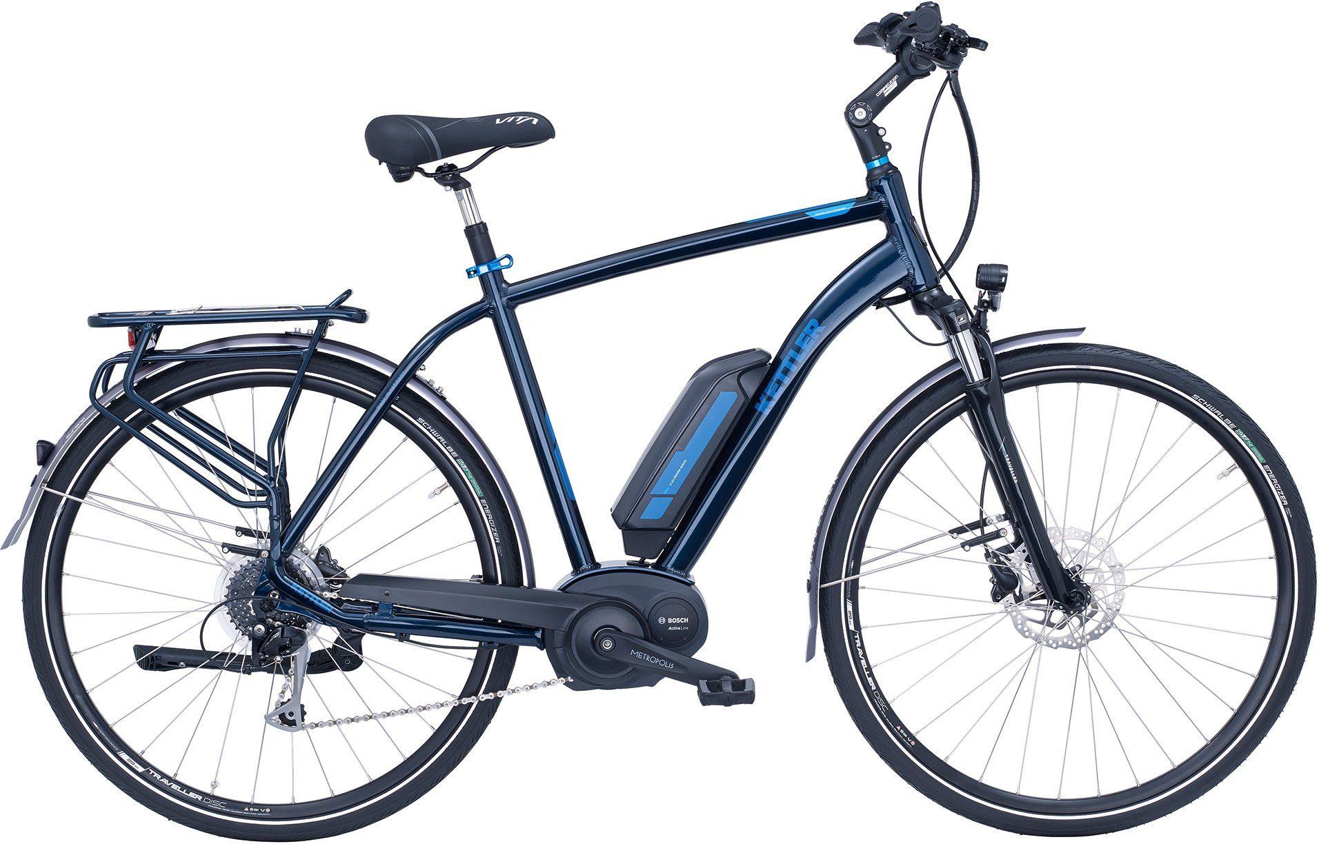 Kettler E-Bike »Traveller E Comfort«, 8 Gang Shimano Alivio Schaltwerk, Kettenschaltung, Mittelmotor 250 W