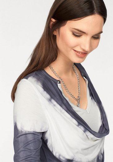 Laura Scott Waterfall Shirt, In 2-in-1-optic