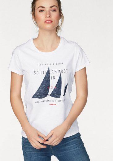 Gaastra T-Shirt Aloof_1, mit typischem Frontmotiv