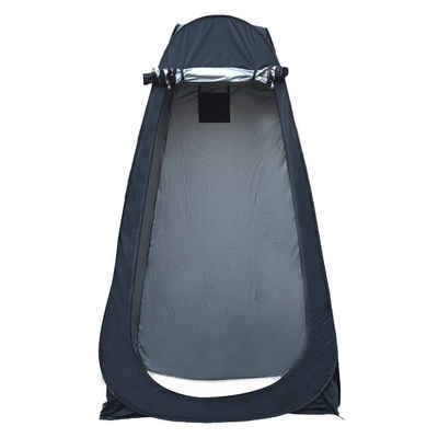 Hikeren Dachzelt »Duschzelt Toilettenzelt Umkleidezelt Camping Zelt Wasserfest Beistellzelt«, Personen: 1 (1 tlg., Zusammenklappbar), Ein Wegwerf-Vollautomatisches Zelt
