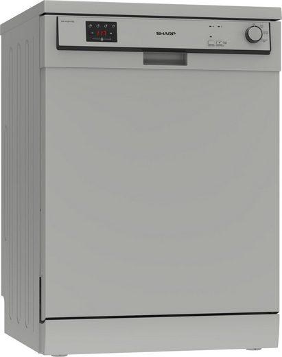 Sharp Standgeschirrspüler, QW-HX12F47ES-DE, 12 l, 13 Maßgedecke