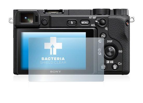 upscreen Schutzfolie »für Sony Alpha 6400«, Folie Schutzfolie klar antibakteriell