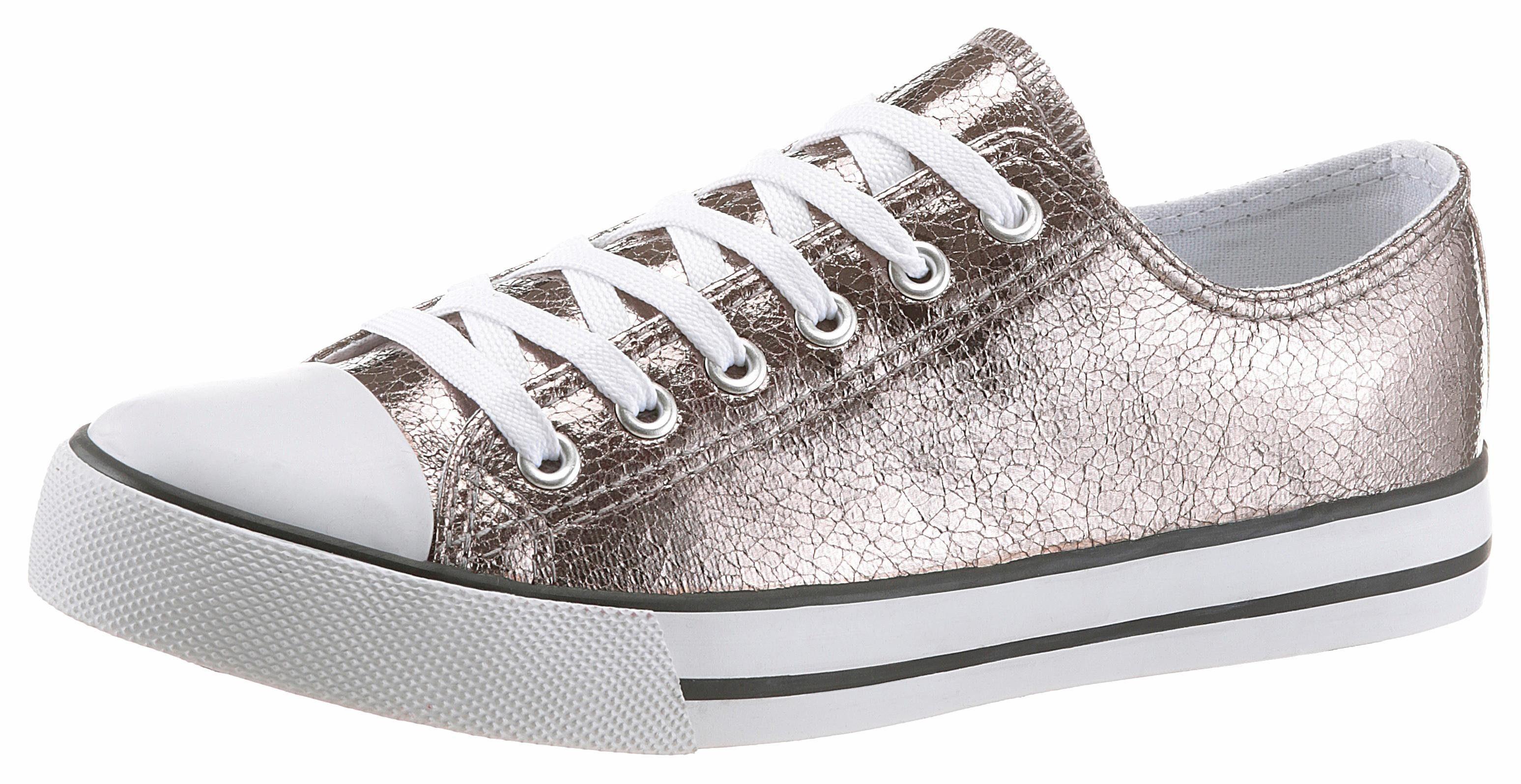 Arizona Sneaker, in glänzender Optik online kaufen  anthrazit