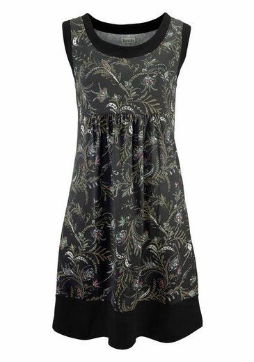 Boysen's Jerseykleid, im Lagenlook aus reiner Baumwolle