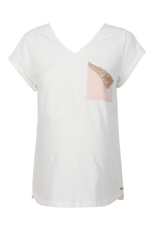 bellybutton shirt f r schwangere pailletten tasche online kaufen otto. Black Bedroom Furniture Sets. Home Design Ideas