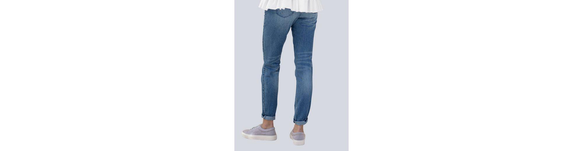 Alba Moda Jeans mit Stickerei und Nieten Billig Besuch Neu Rabatt Neueste Qualitativ Hochwertige Online-Verkauf Vjiu2