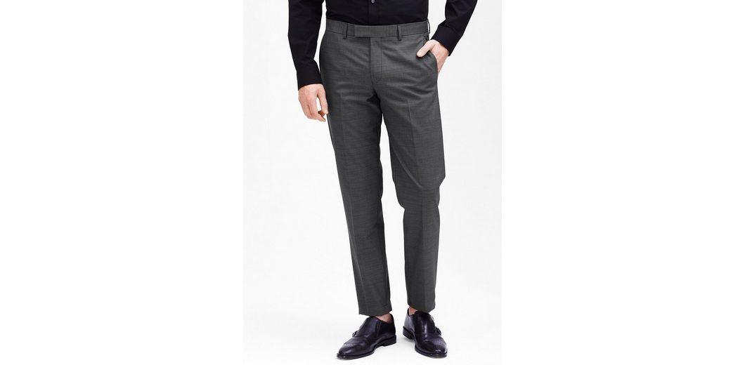 s.Oliver BLACK LABEL Cosimo Slim: Anzughose mit Webmuster Günstig Kaufen Footaction Billig Verkauf Klassische SuM7efZ6