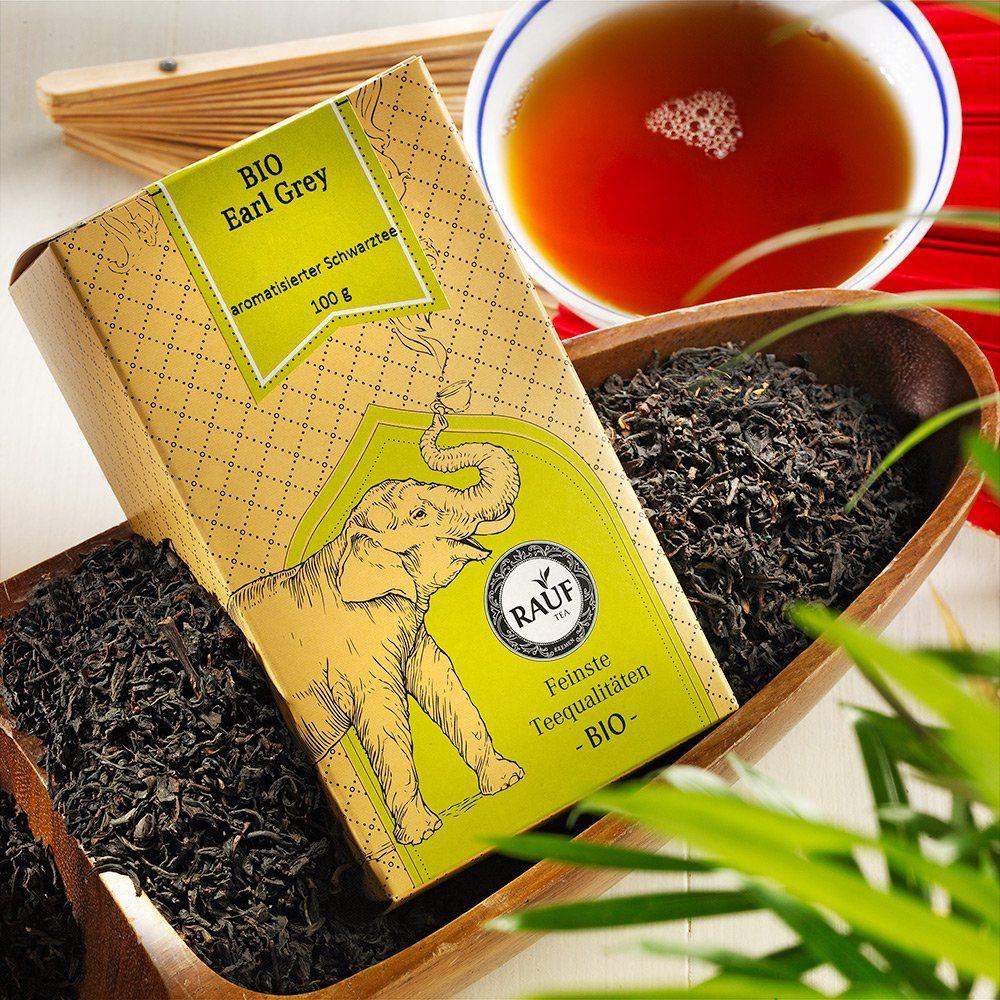 Rauf Tee Rauf Tee Schwarzer Tee Earl Grey Bio