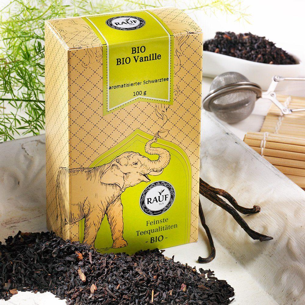 Rauf Tee Rauf Tee Schwarzer Tee Vanille Bio