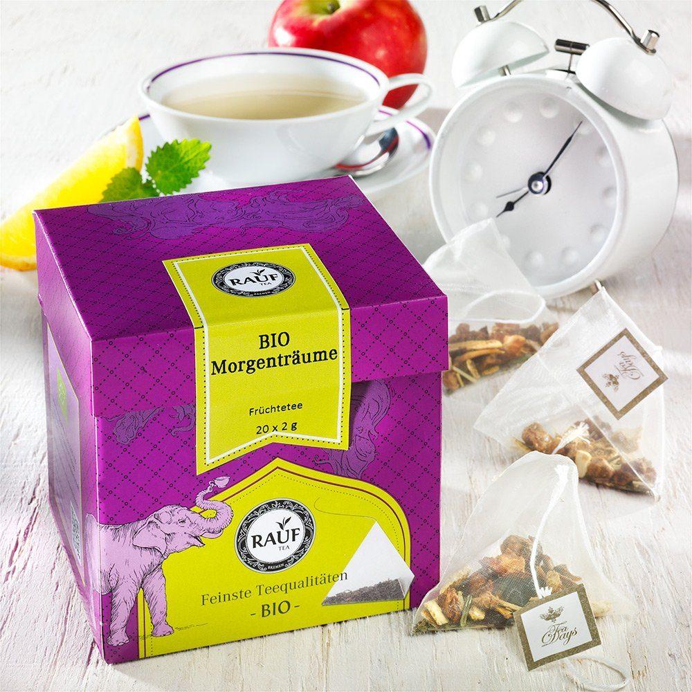Rauf Tee Rauf Tee Früchtetee Morgenträume Bio