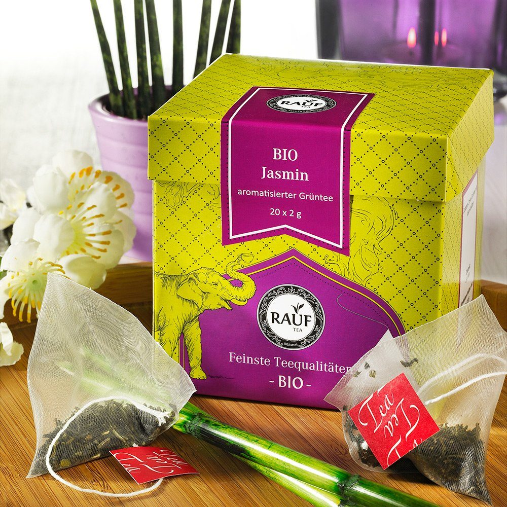 Rauf Tee Grüner Tee Jasmin Bio
