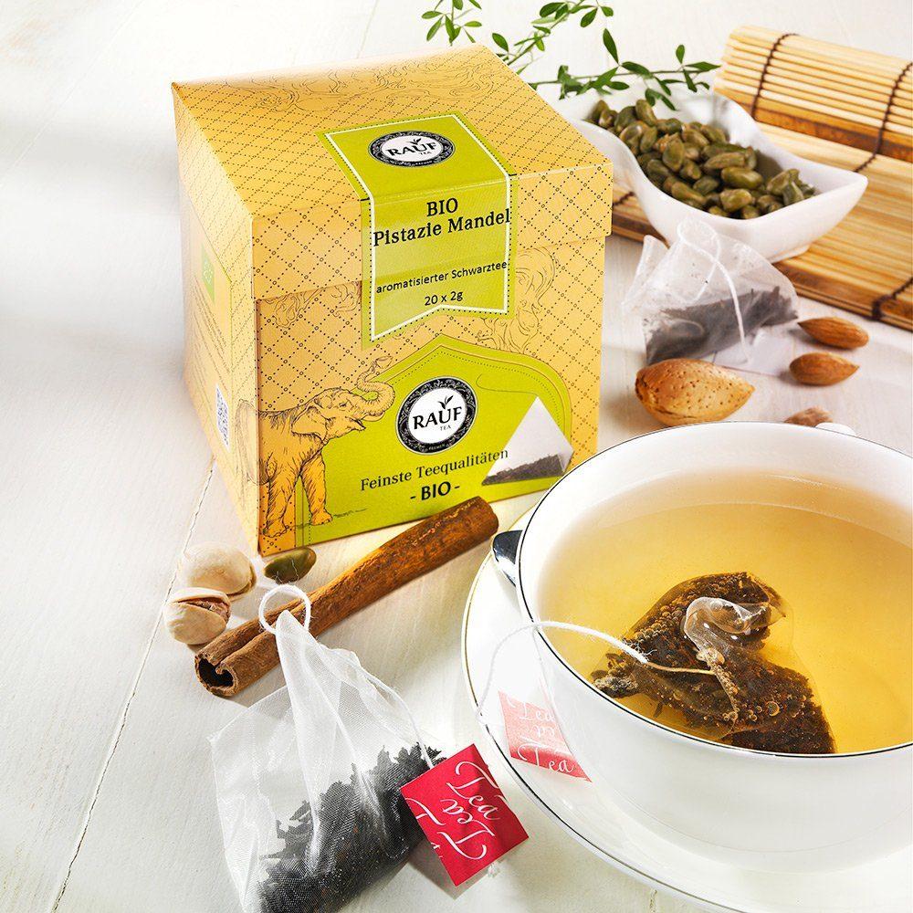 Rauf Tee Rauf Tee Schwarzer Tee Pistazie-Mandel Bio