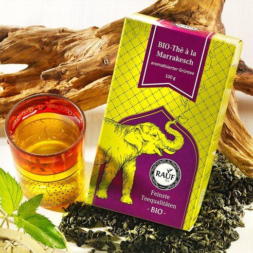 Rauf Tee Grüner Tee The a la Marrakesch Bio
