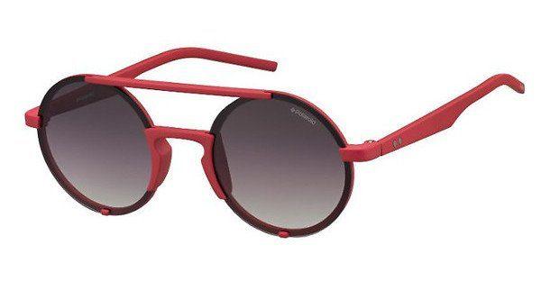 Polaroid Sonnenbrille » PLD 6016/S«, rot, ABA/8W - rot/grau
