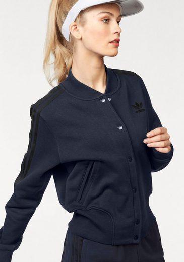Adidas Originals Sweat Jacket Collegiate Tt, In College Style