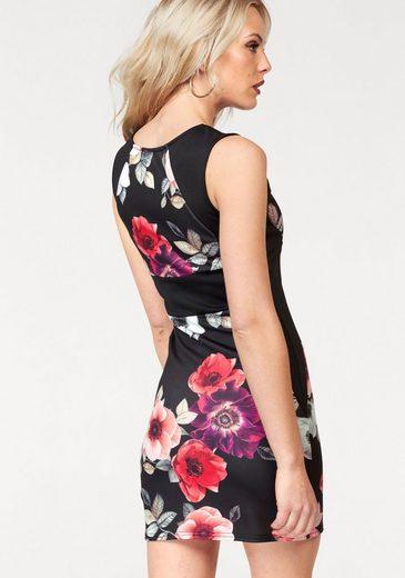 Melrose Jerseykleid, mit Blumen-Print