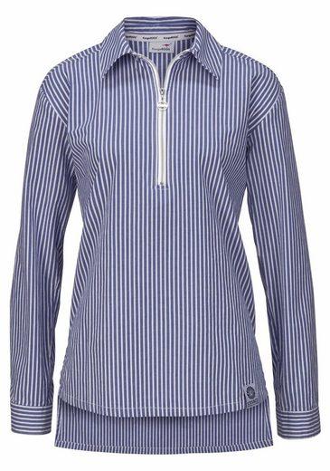 KangaROOS Hemdbluse, mit Reißverschluss vorne