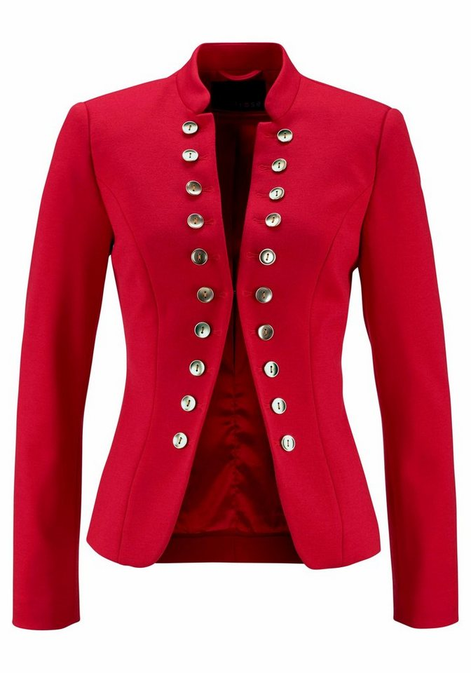 Melrose Blazer, im Uniform-Stil