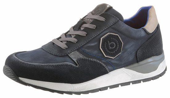 Bugatti Sneaker, With Fashionable Inserts