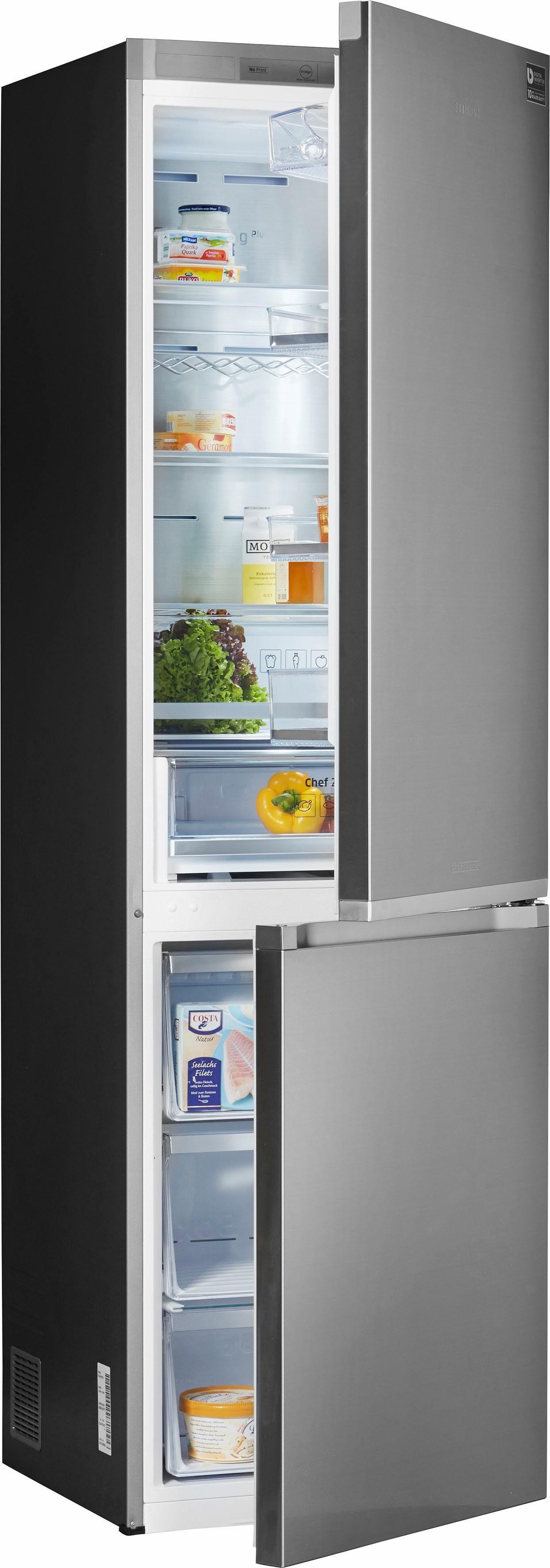 Samsung Kühl-Gefrierkombination RL36J8799S4/EG, Energieklasse A+++, 201 cm hoch, NoFrost