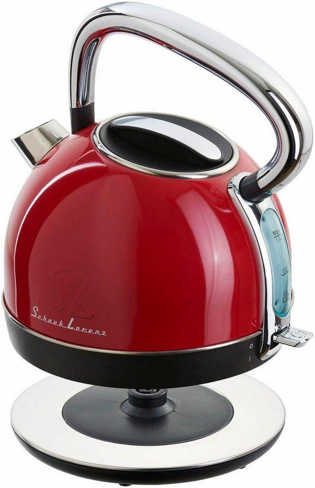 schaub lorenz wasserkocher w1 fr 1 7 liter 1850 2200 watt feuerrot online kaufen otto. Black Bedroom Furniture Sets. Home Design Ideas
