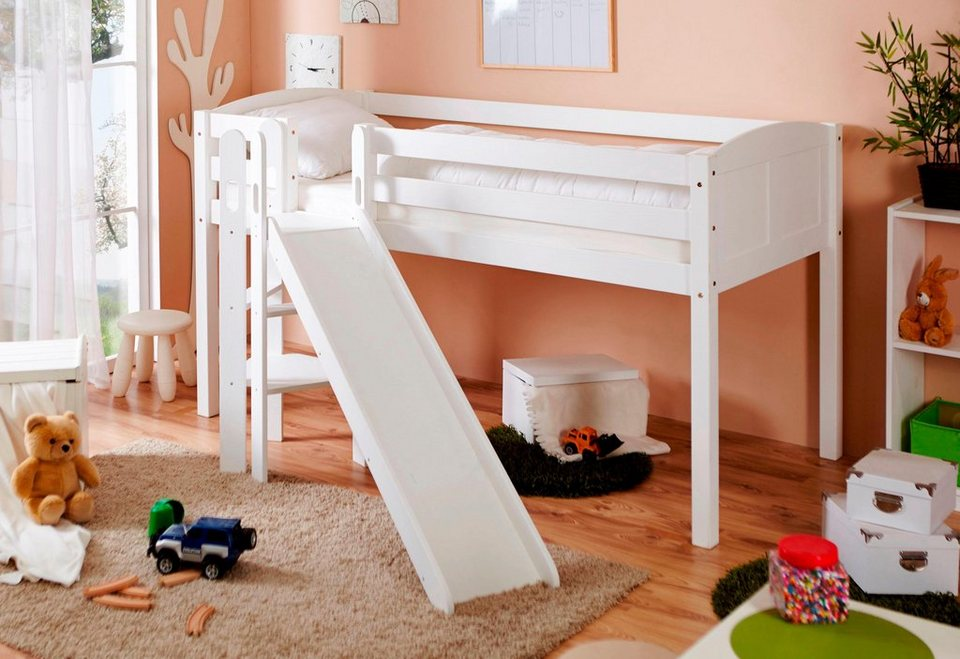 kinderbett mit rutsche top hochbett wei mit rutsche haus. Black Bedroom Furniture Sets. Home Design Ideas
