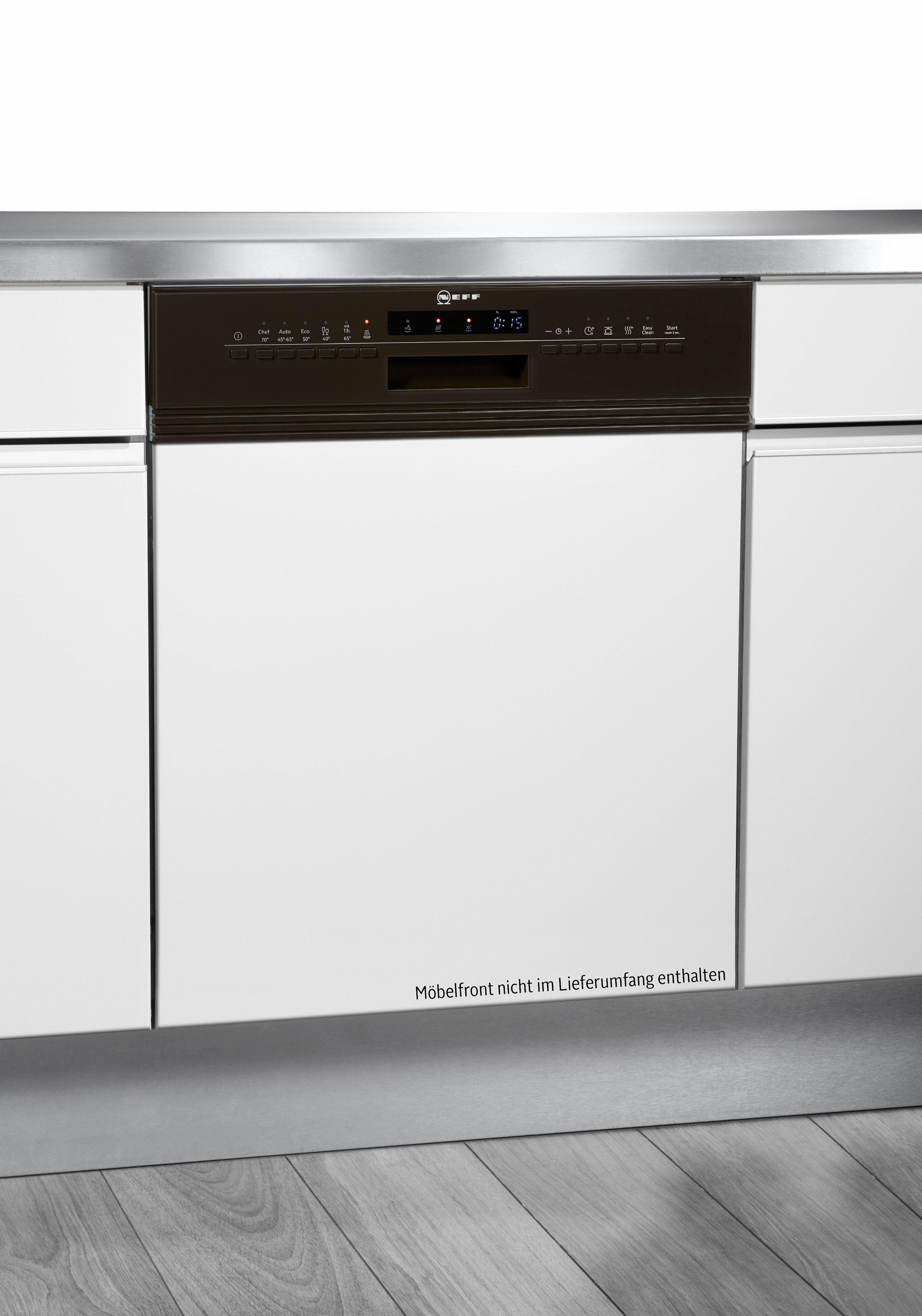 NEFF teilintegrierbarer Geschirrspüler Serie 4, Serie 4 GI4603IB / S413I60M3E, 9,5 l, 13 Maßgedecke