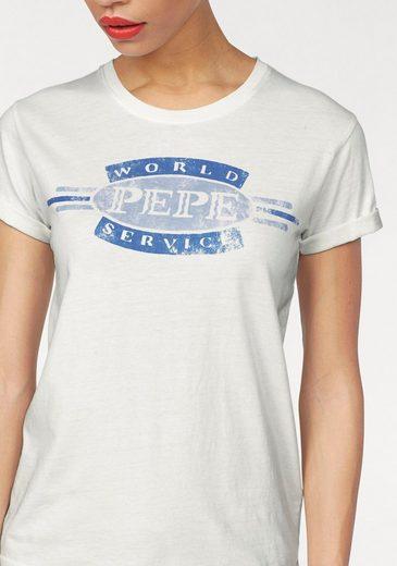 Pepe Jeans T-Shirt ERIN, mit Retro-Druck