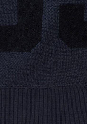 Sweat-shirt À Capuche Sweatshirt Original Adidas, Grand Imprimé Floqué Sur Le Devant