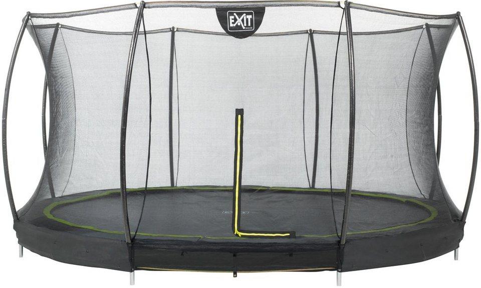 exit trampolin silhouette ground 427 cm f r den. Black Bedroom Furniture Sets. Home Design Ideas