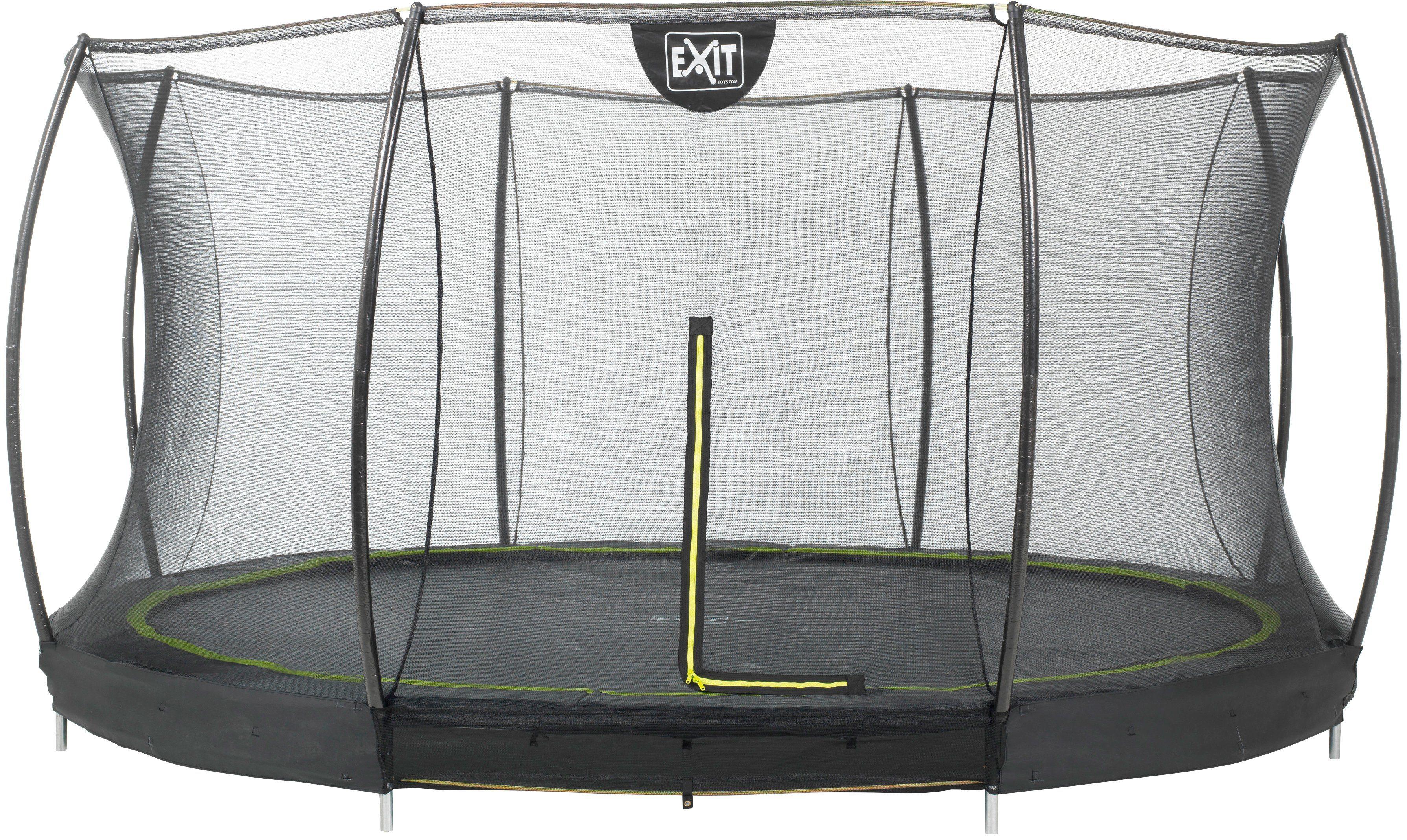 EXIT Trampolin »Silhouette Ground«, Ø: 427 cm
